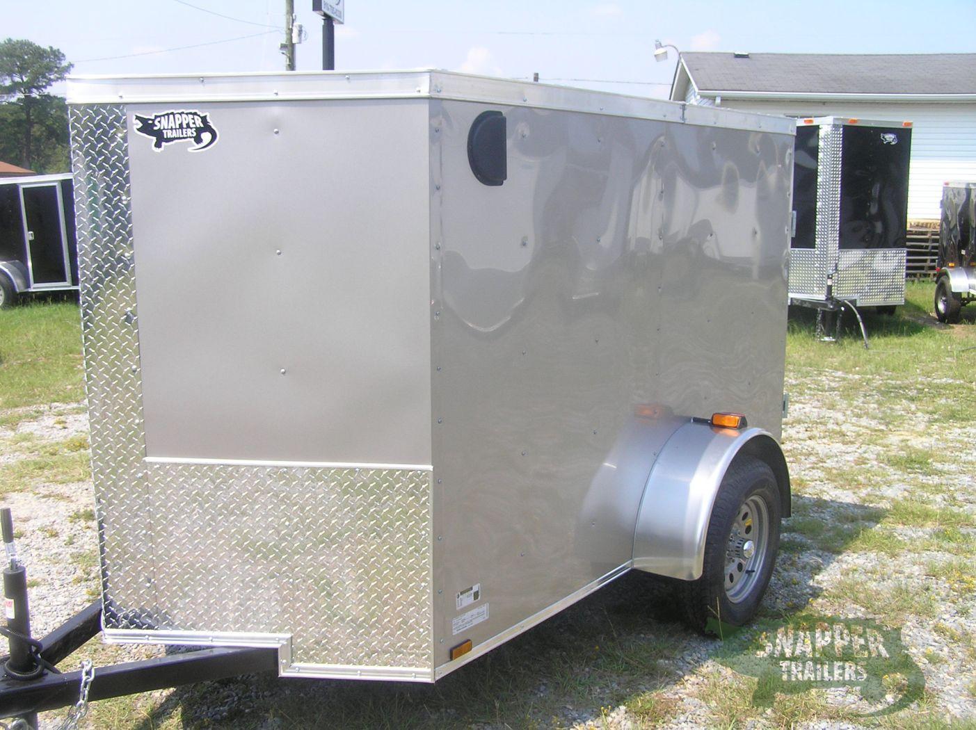 Side Door Tractor Trailer : Sa trailer champagne double doors side door