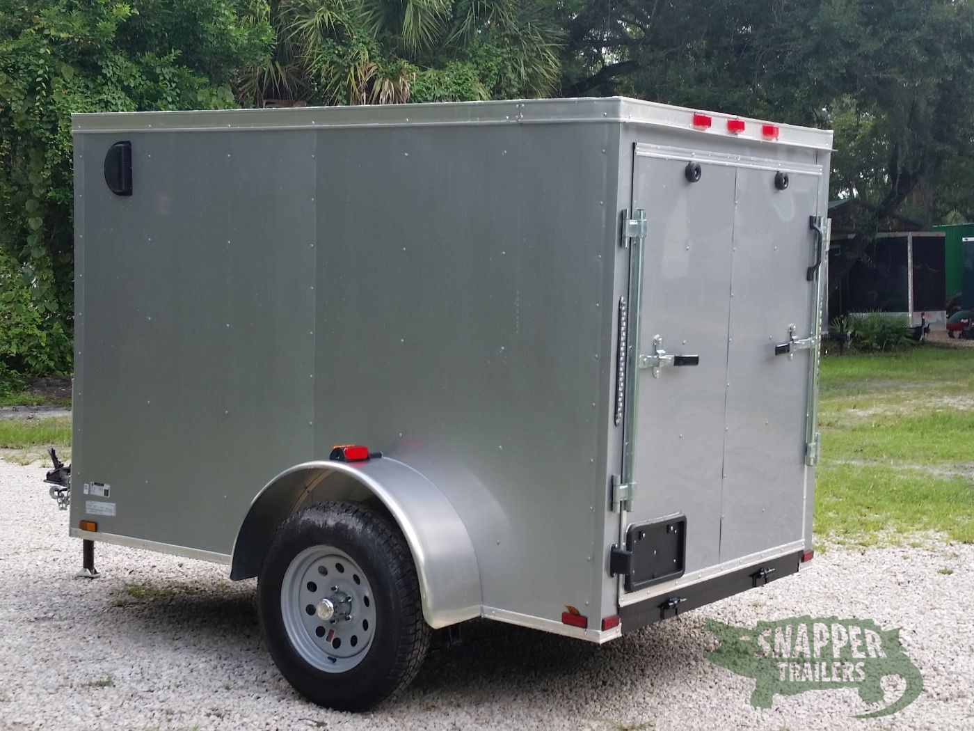 Side Door Tractor Trailer : Sa trailer silver frost ramp side door vents