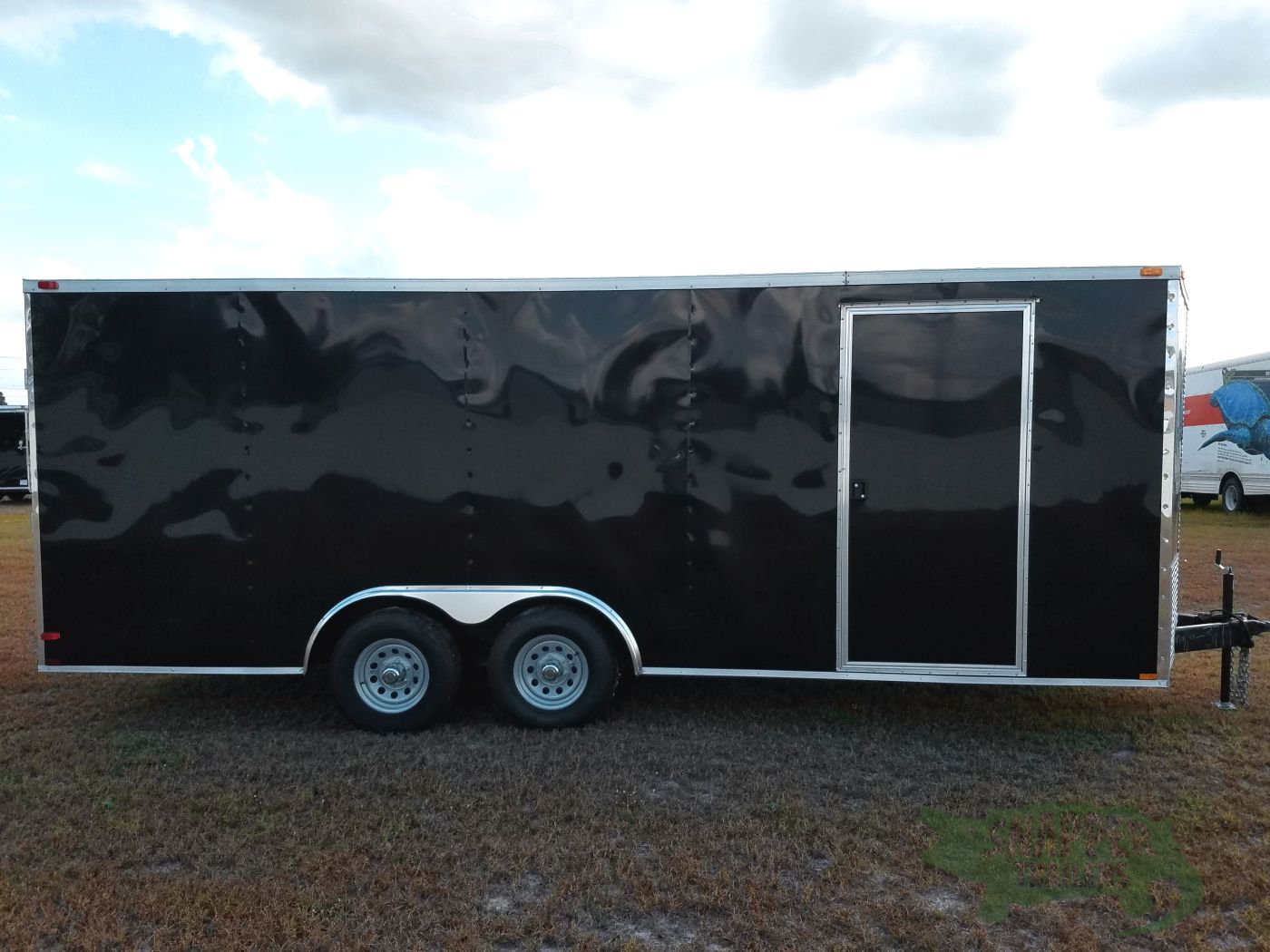 8.5×20 TA Trailer – Black, Ramp, 5K Axles, Electrical, Additional Options
