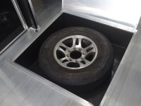 In Floor Spare Tire Compartment