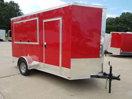 BQ 6x12SAL Red R RV Options 4752 Front Right