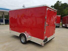 BQ 6x12SAL Red R RV Options 4752 Rear Left