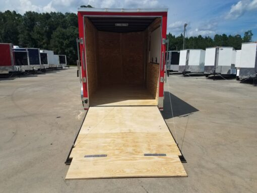 BQ 6x12SAL Red R RV Options 4752 Rear Open