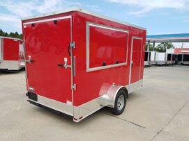 BQ 6x12SAL Red R RV Options 4752 Rear Right