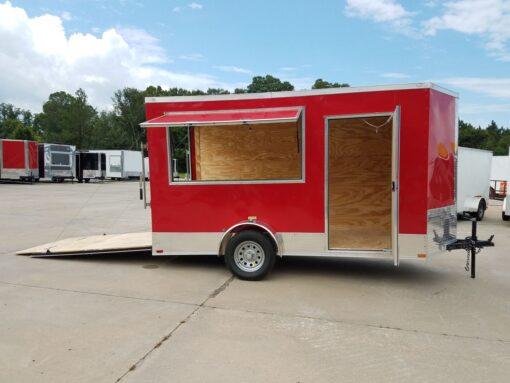 BQ 6x12SAL Red R RV Options 4752 Right Open