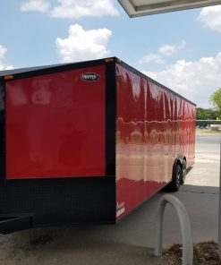 BS 8.5x24TA3L Red R RV Options 29085 Front Left