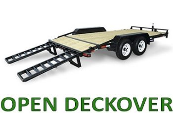 Open Deckover Trailers